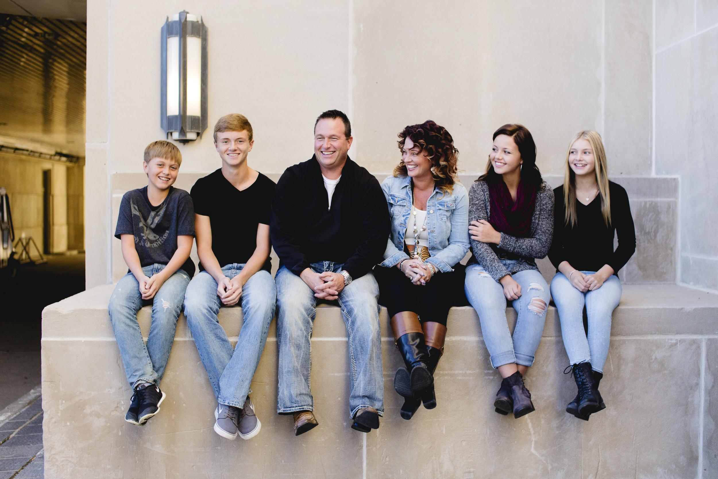 The Evanson Family – Genuine Photography