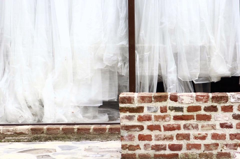 Veils + bricks, Oradea, Romania (2016)