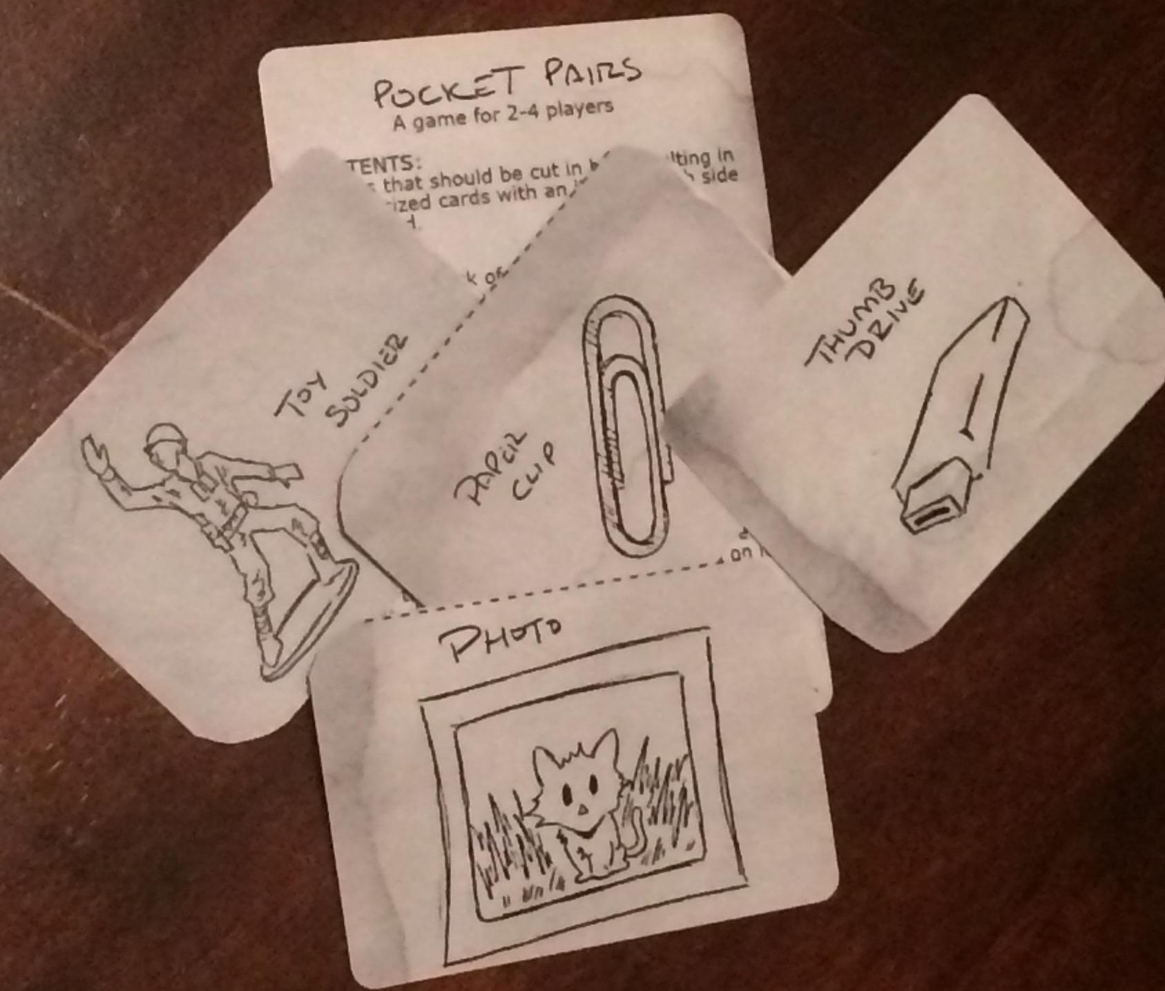 Pocket Pairs Card Game