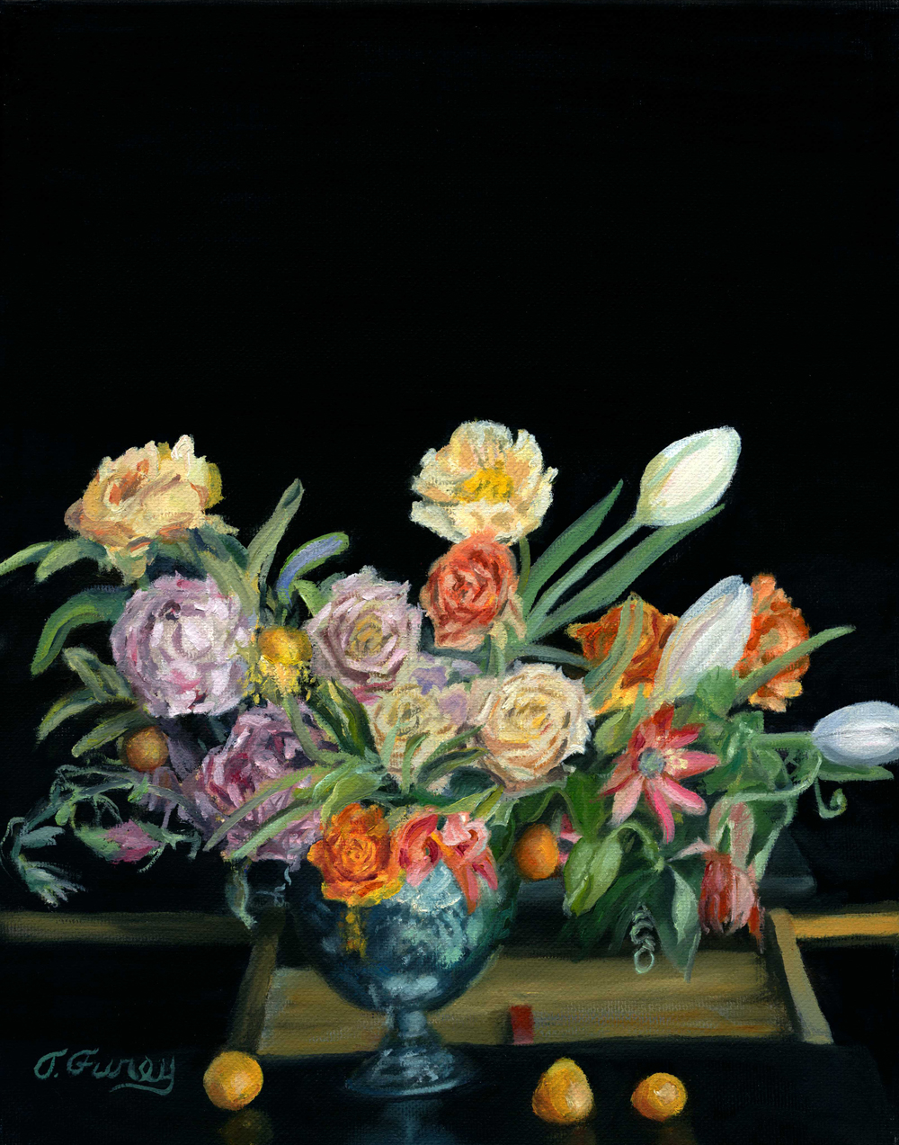Modern Floral IV