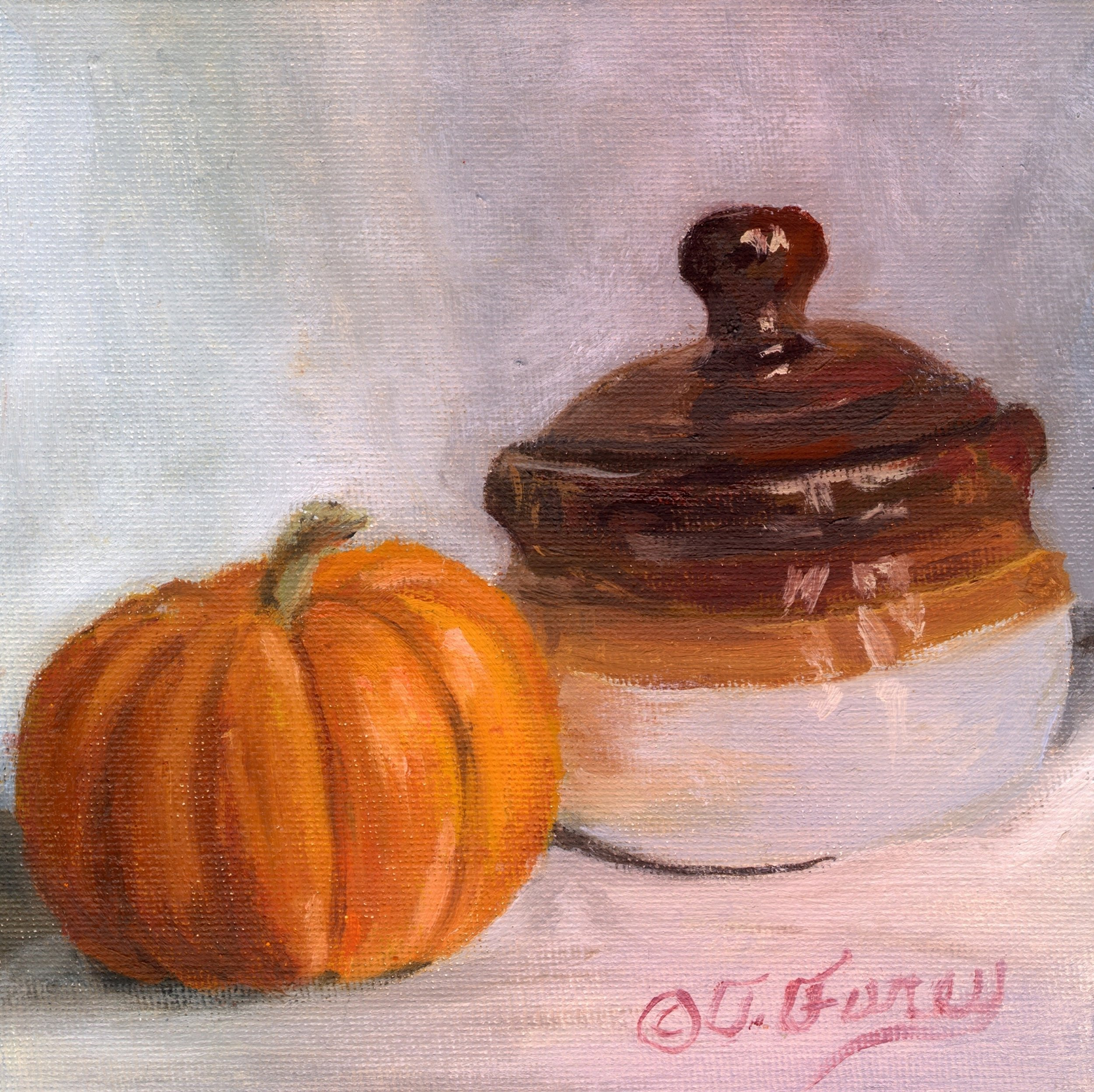 Pumpkin and the Pot