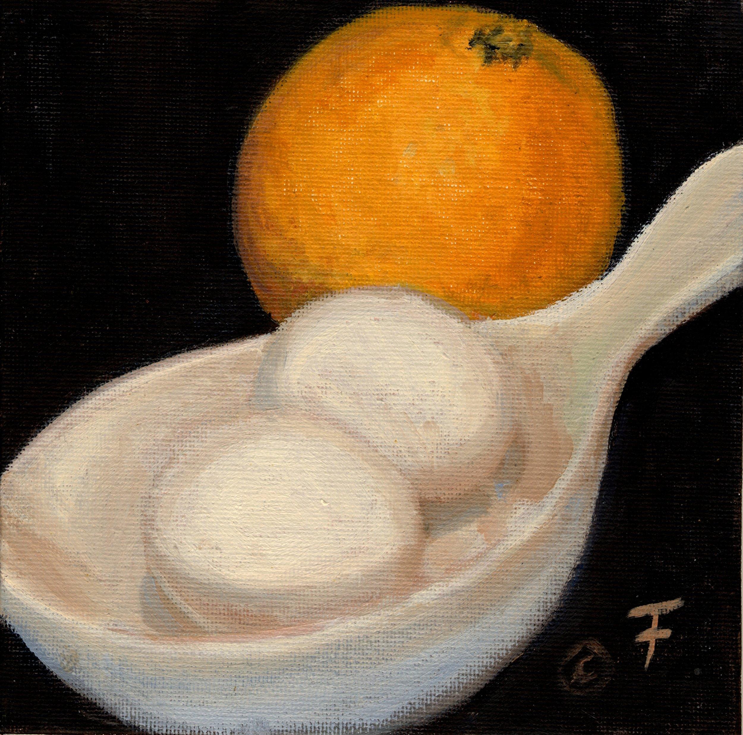 Orange and Eggs