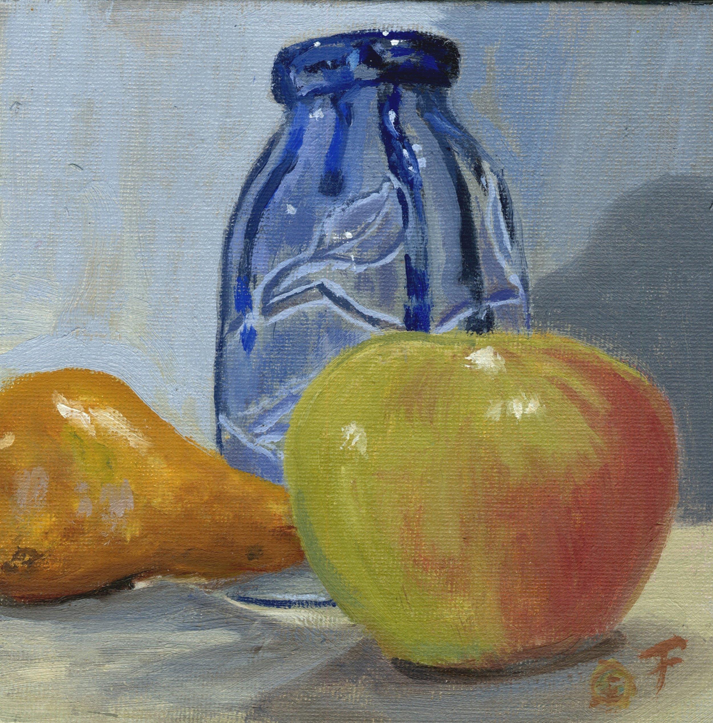 Fruit and Ceramic