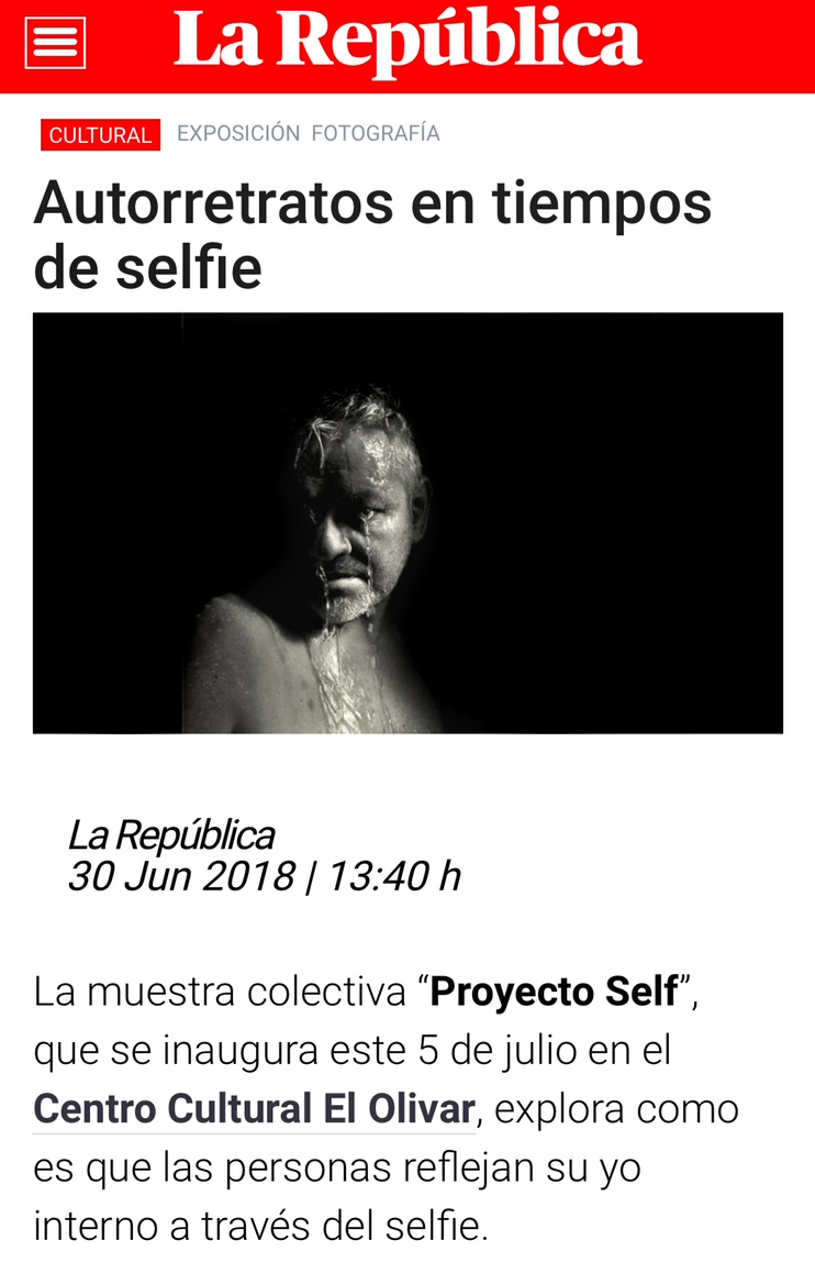 ProyectoSELF - Multidisciplinary group show Curated by Lin Belaúnde and FIDELat Centro Cultural El Olivar - San Isidro - Lima, July 2018Piece: I don't know how to cryDiptych 30 x 60 cm in a cornered frameArchival Pigment PrintUnique piece + 1 AP2018 © Coco Martin