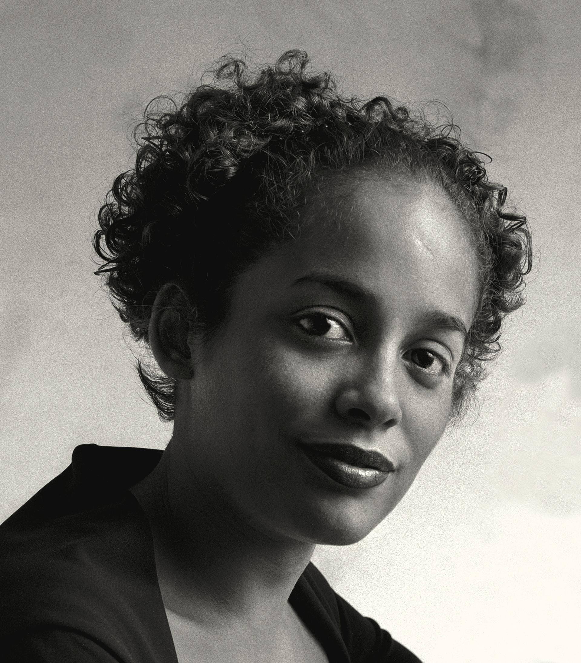 Ebelin Ortiz in my studio | Circa 2000 © Coco Martin Shot on medium format, black and white film