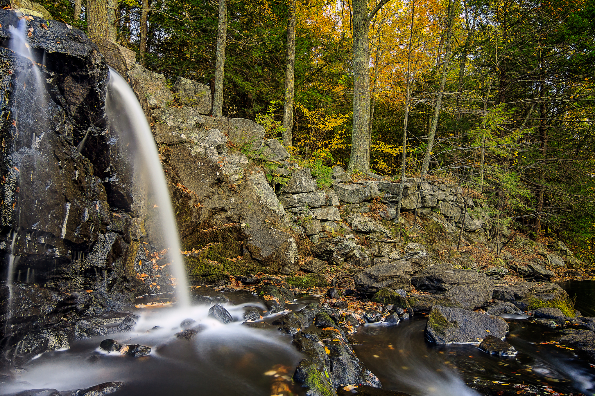 Taken at Southford Falls State Park in Southbury, Connecticut, USA.