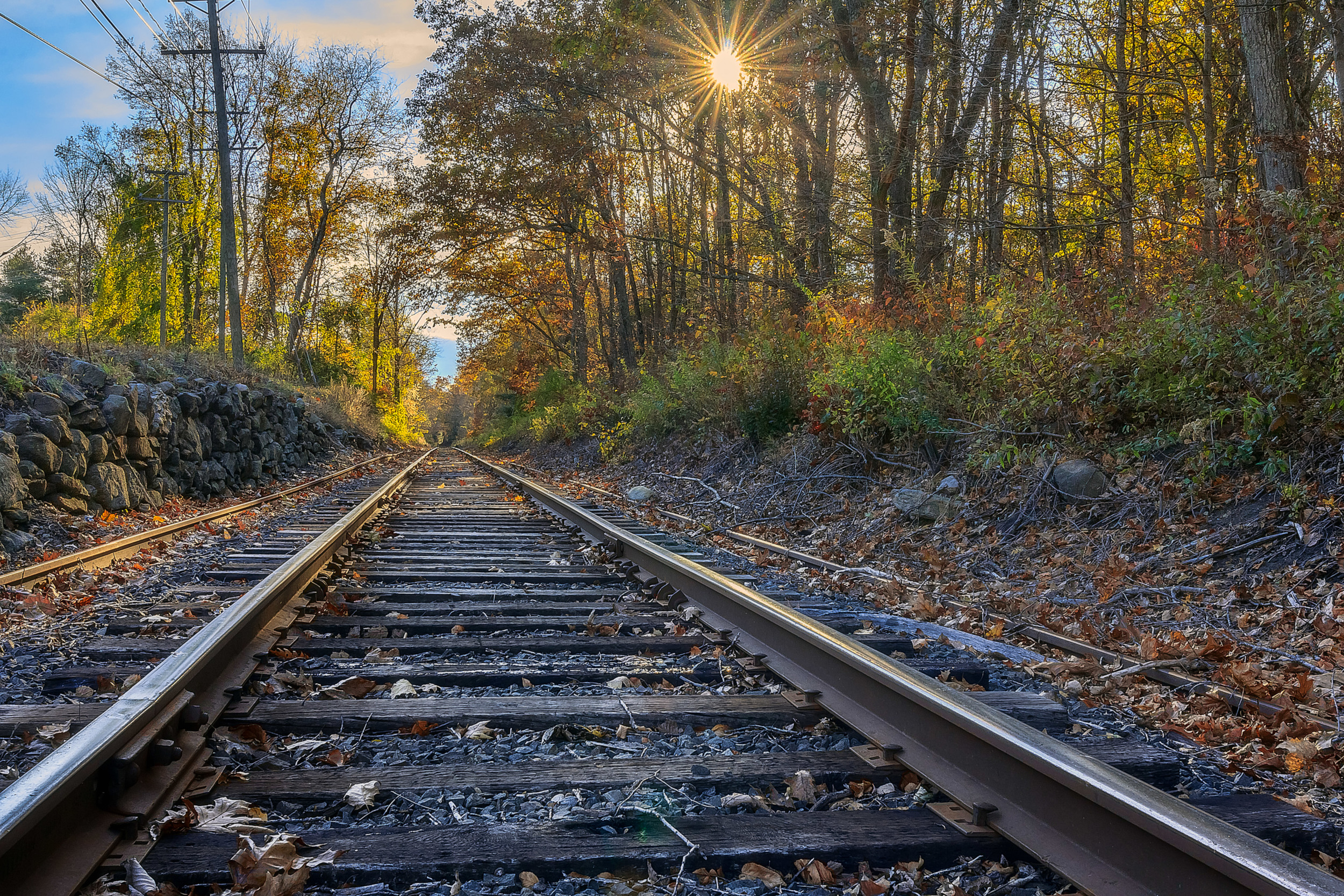 Sunburst By The Tracks