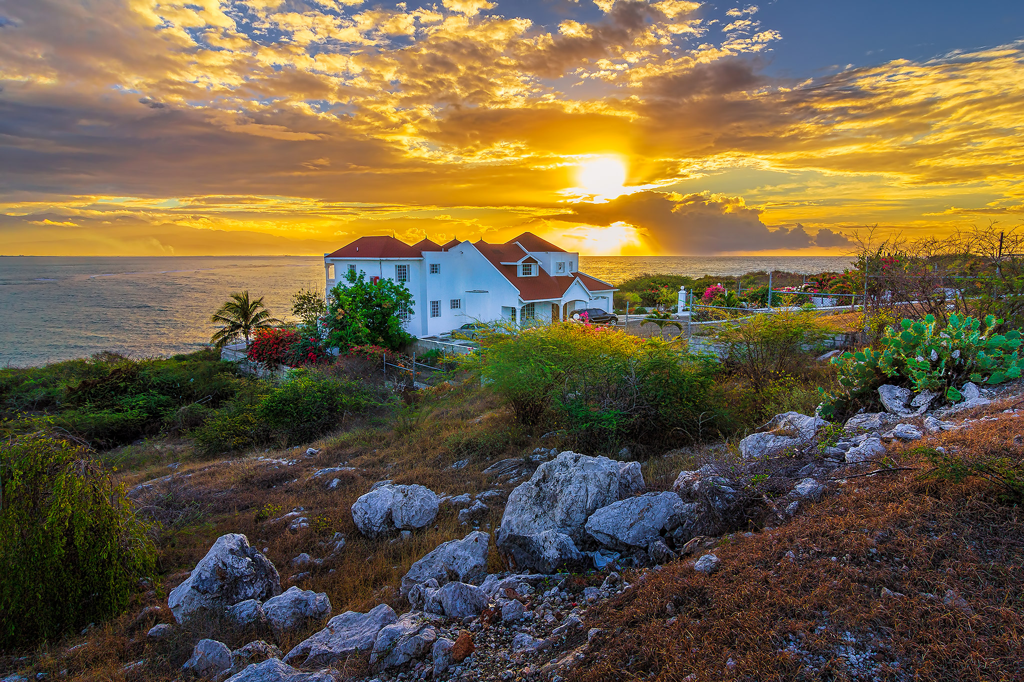 Early Morning in Hellshire, St Catherine, Jamaica.
