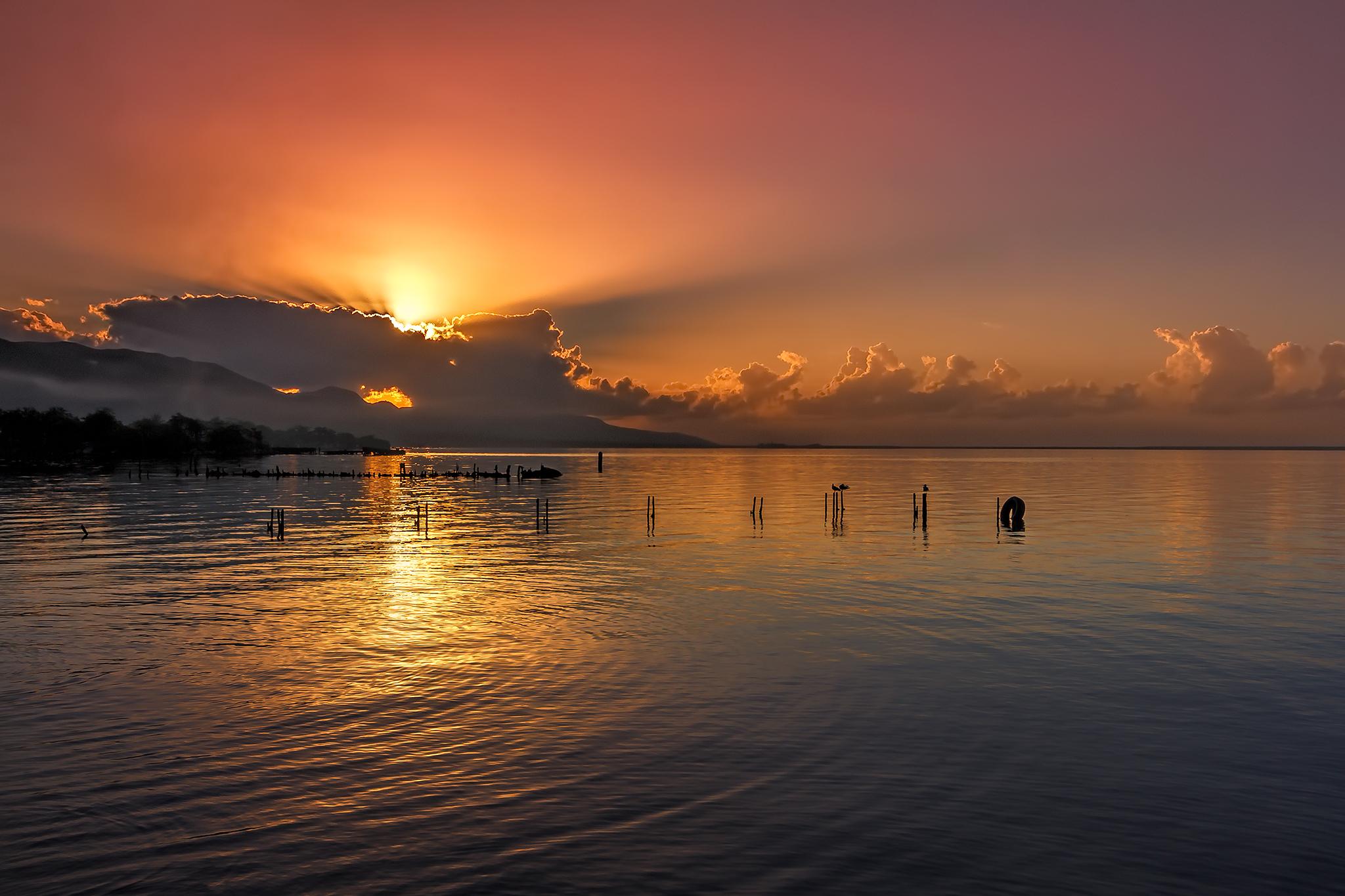 Sunrise in East Kingston, Jamaica