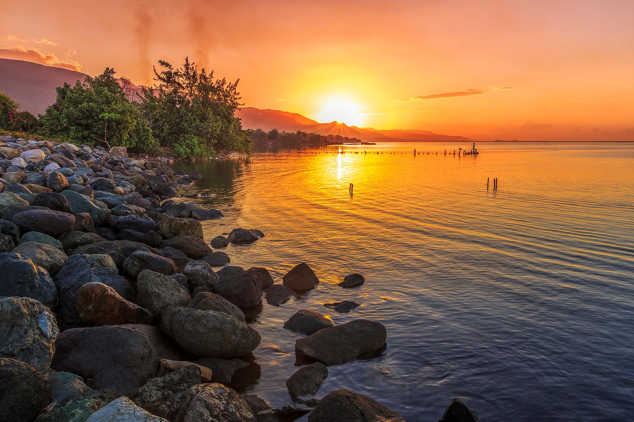 Sunrise in East Kingston,Jamaica