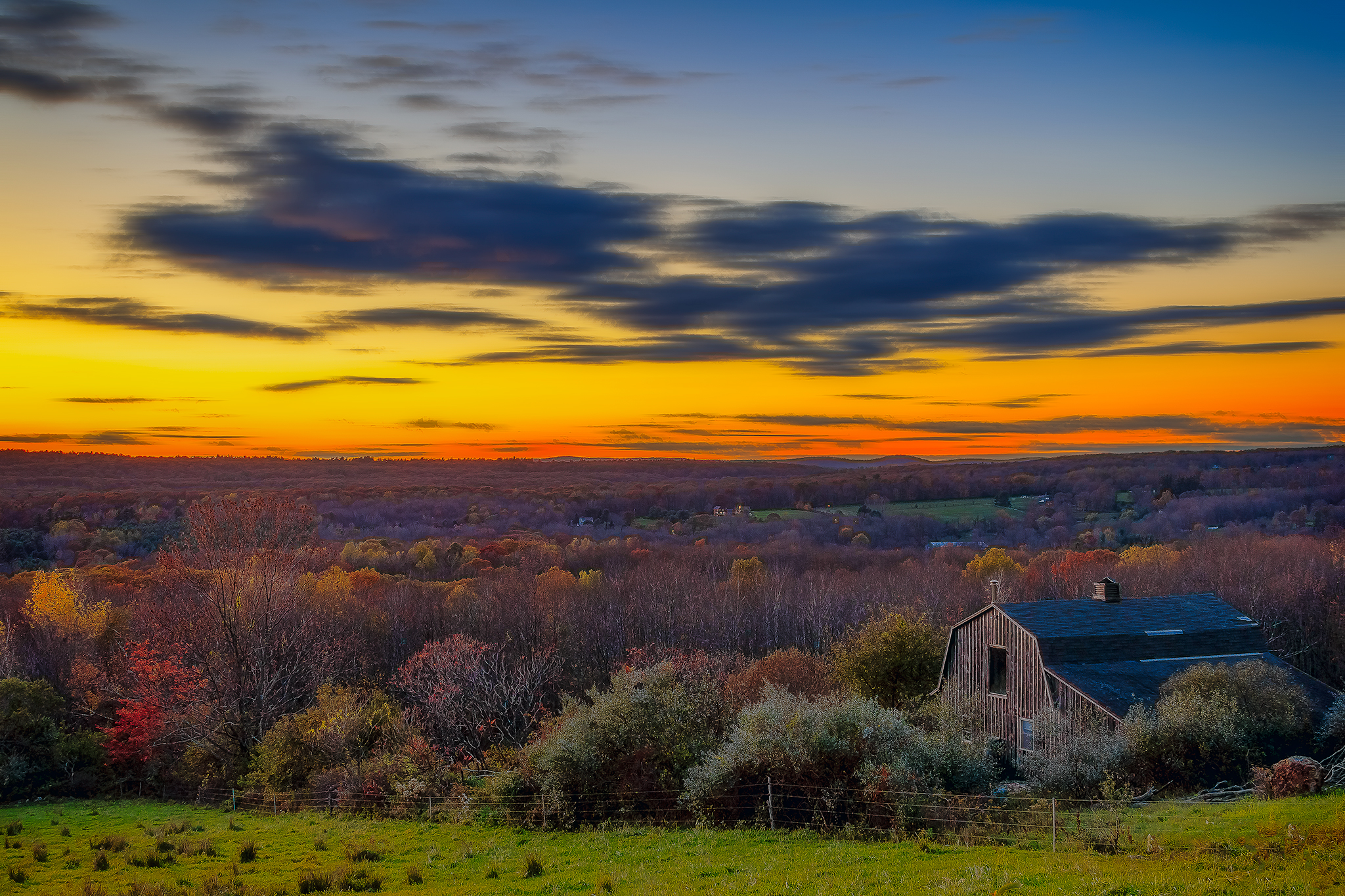 Taken in Morris, Connecticut, USA.