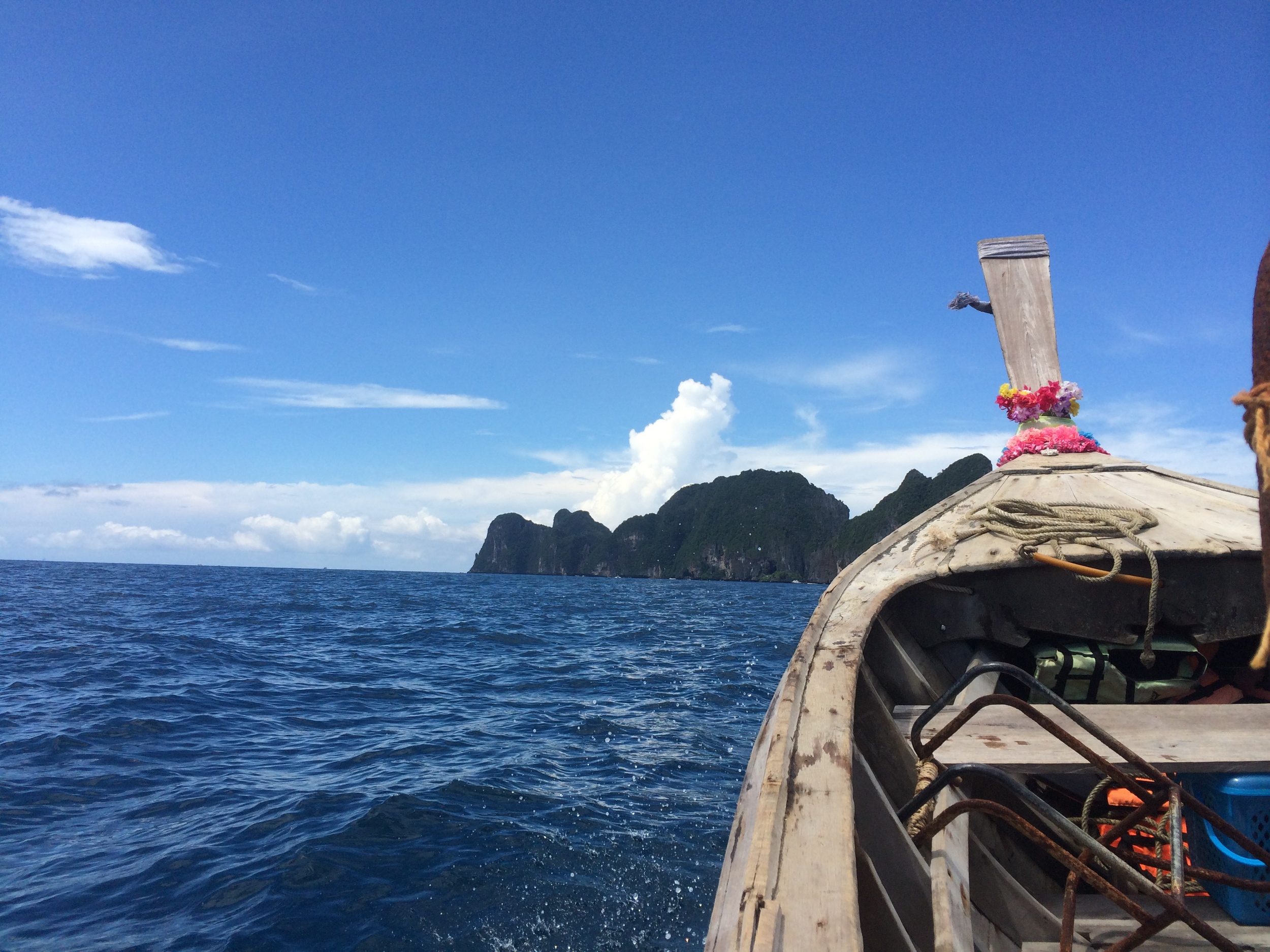 Long Boat at Ko Phi Phi