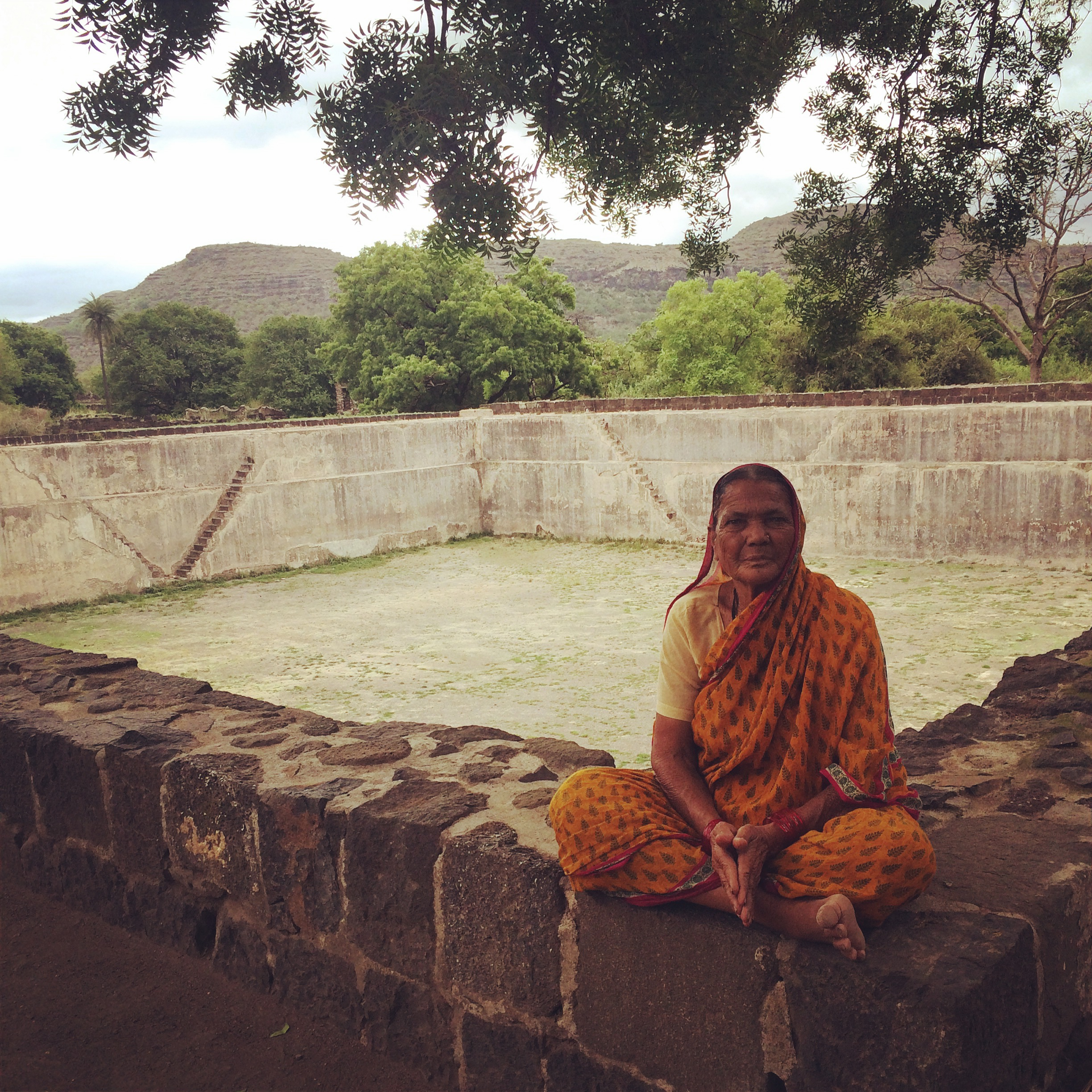 Woman at Daulatabad