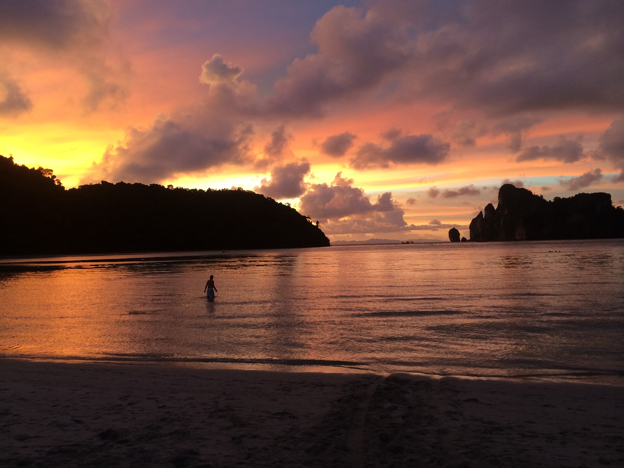 Ko Phi Phi at Sunset