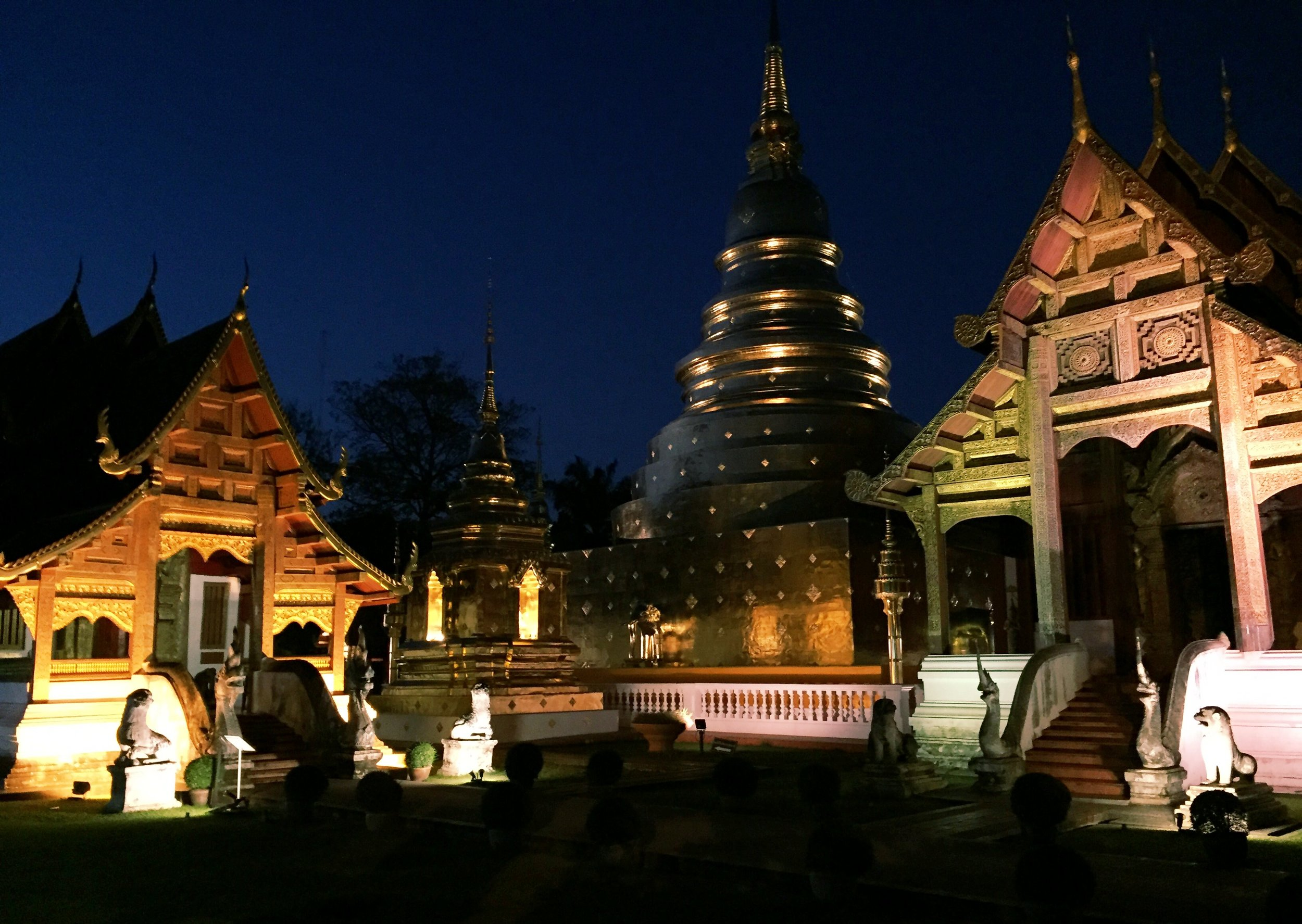 Wat Phra Singh at Night