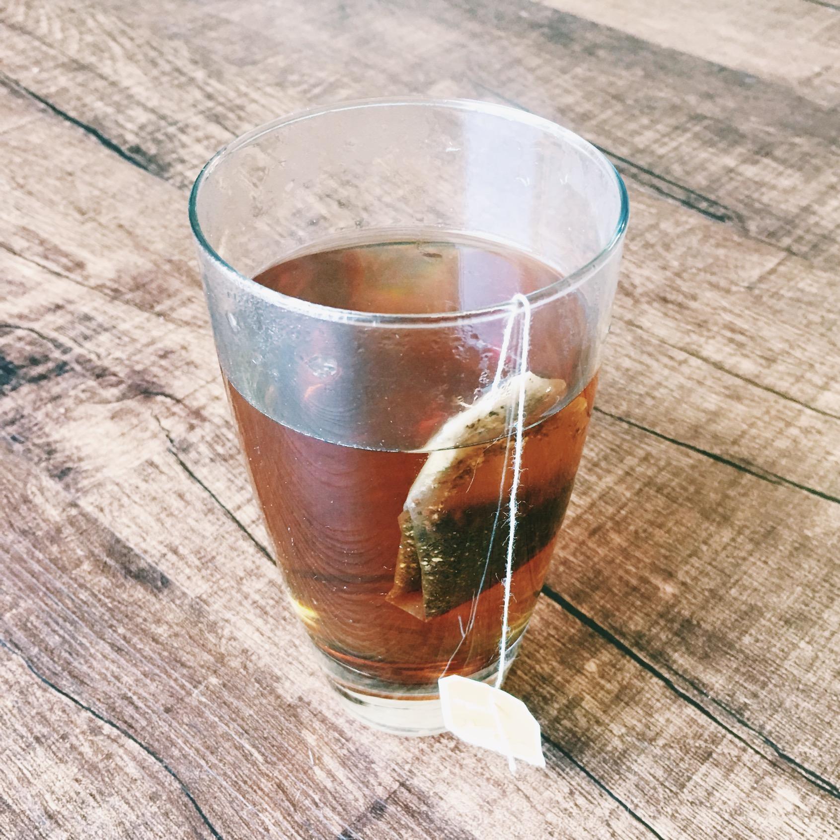 Organic teas helped curve cravings.
