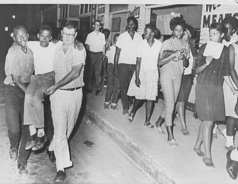 """At great personal risk, local residents repeatedly marched in St. Augustine. A veteran of the Selma and Birmingham movements called St. Augustine """"The scariest place I have ever been."""""""