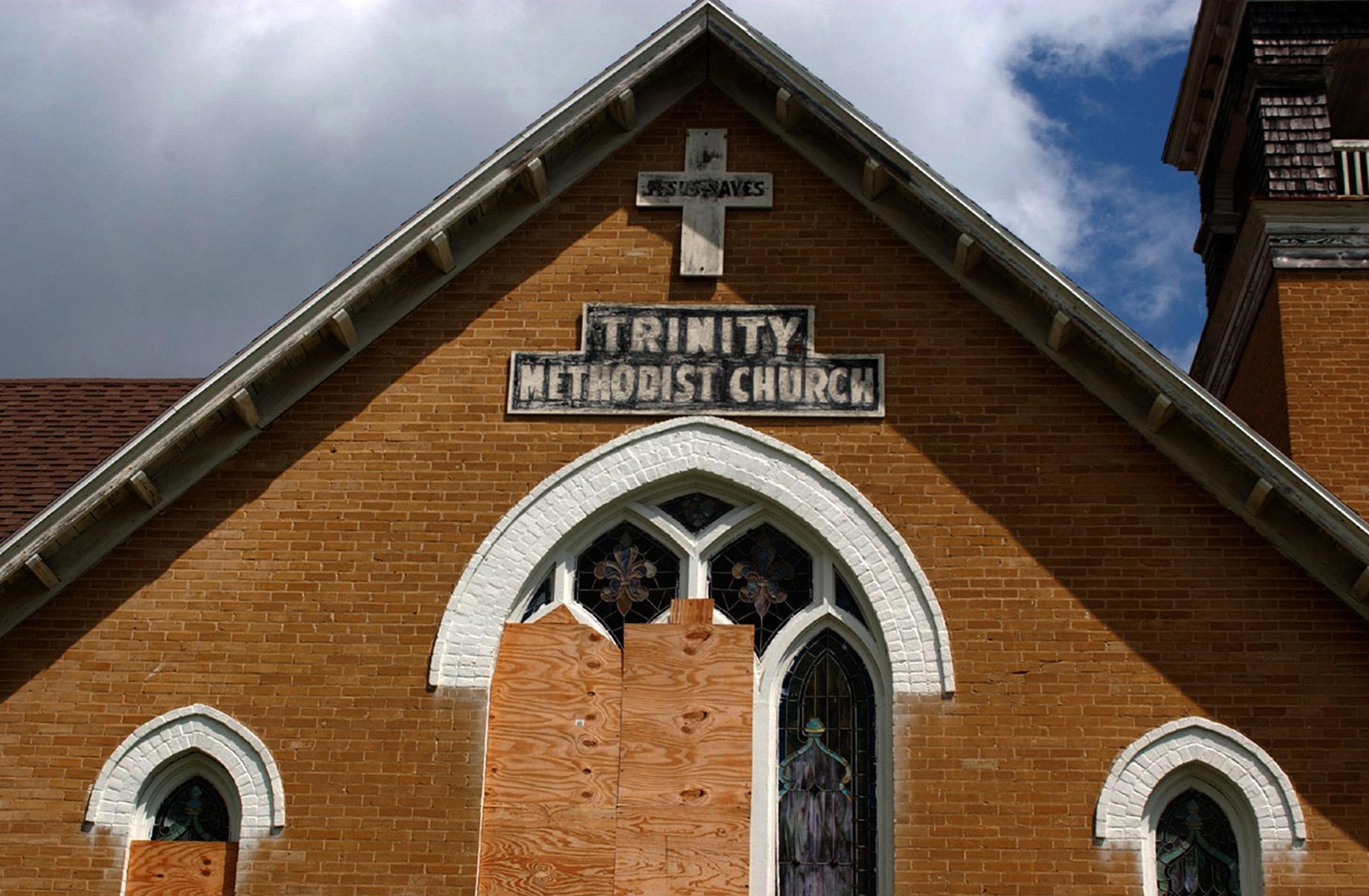 Trinity Methodist, St. Augustine, 2004