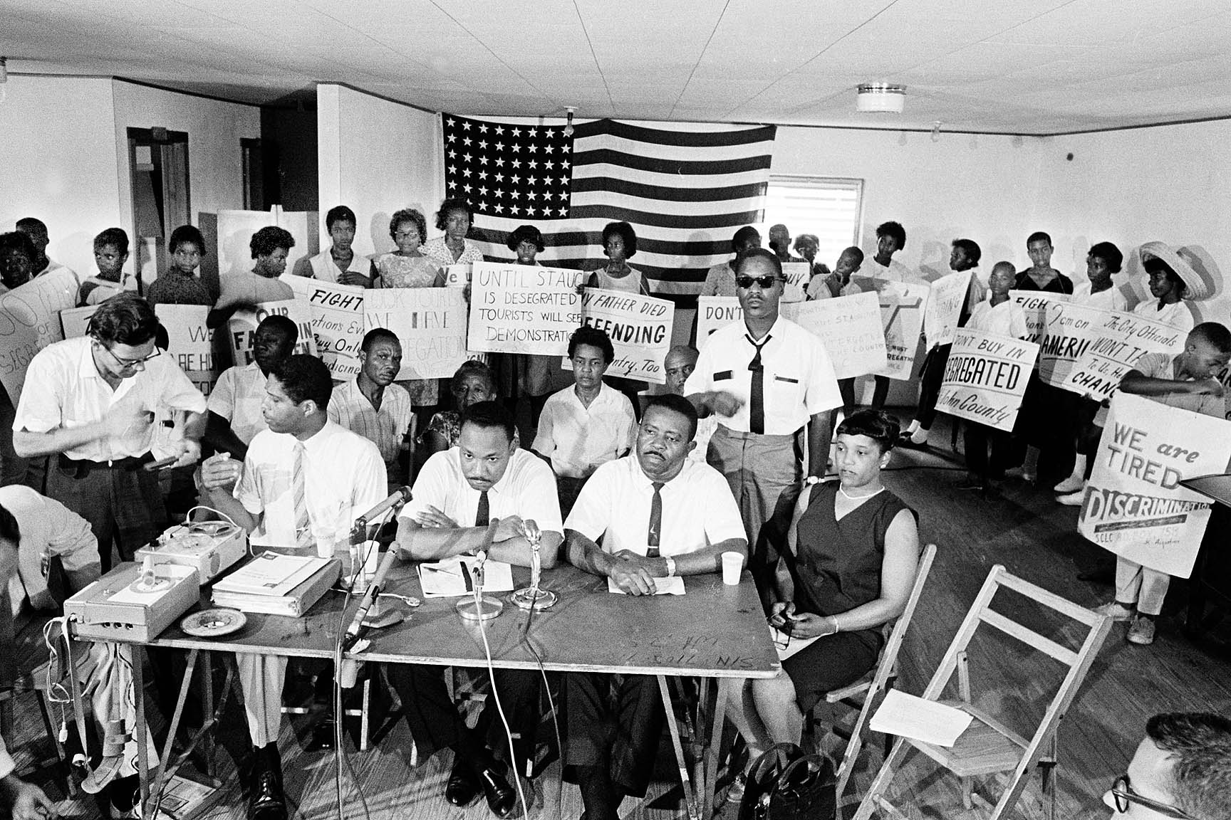 """Declaring, """"A long hot summer"""" Dr. King comes to St. Augustine to help the local movement already underway."""