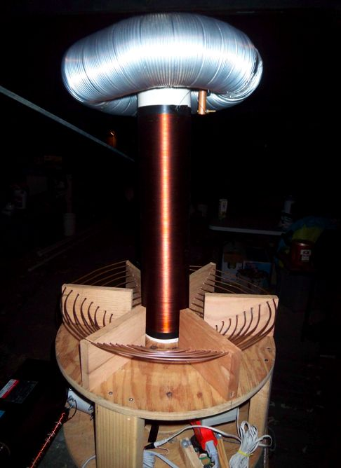 Completed Tesla Coil