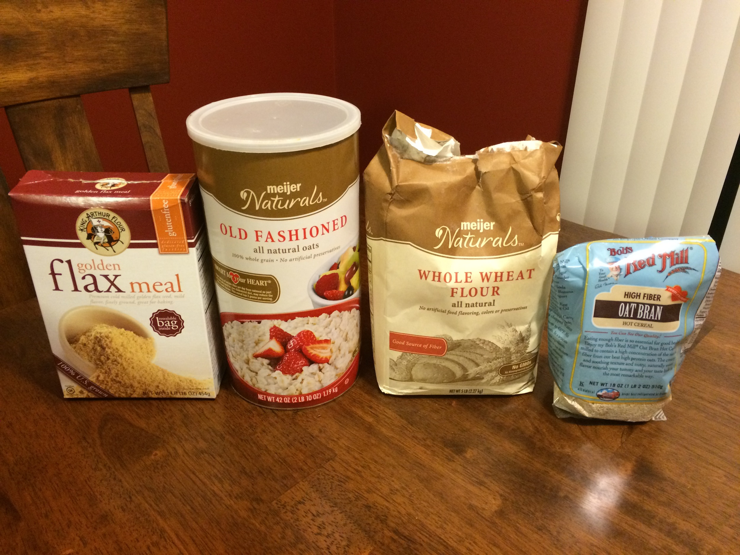 Dry Mixture Ingredients (1 of 2)