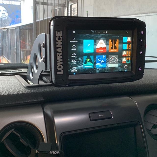Gen1 Ford Raptor GPS mounts ready to go. DM for introductory pricing with a great on @lowranceoffroad units. #WOG #westsideoffroadgroup  #GPS #lowrance