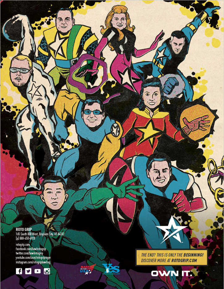 Roto Grip 2019 Catalog Back Cover