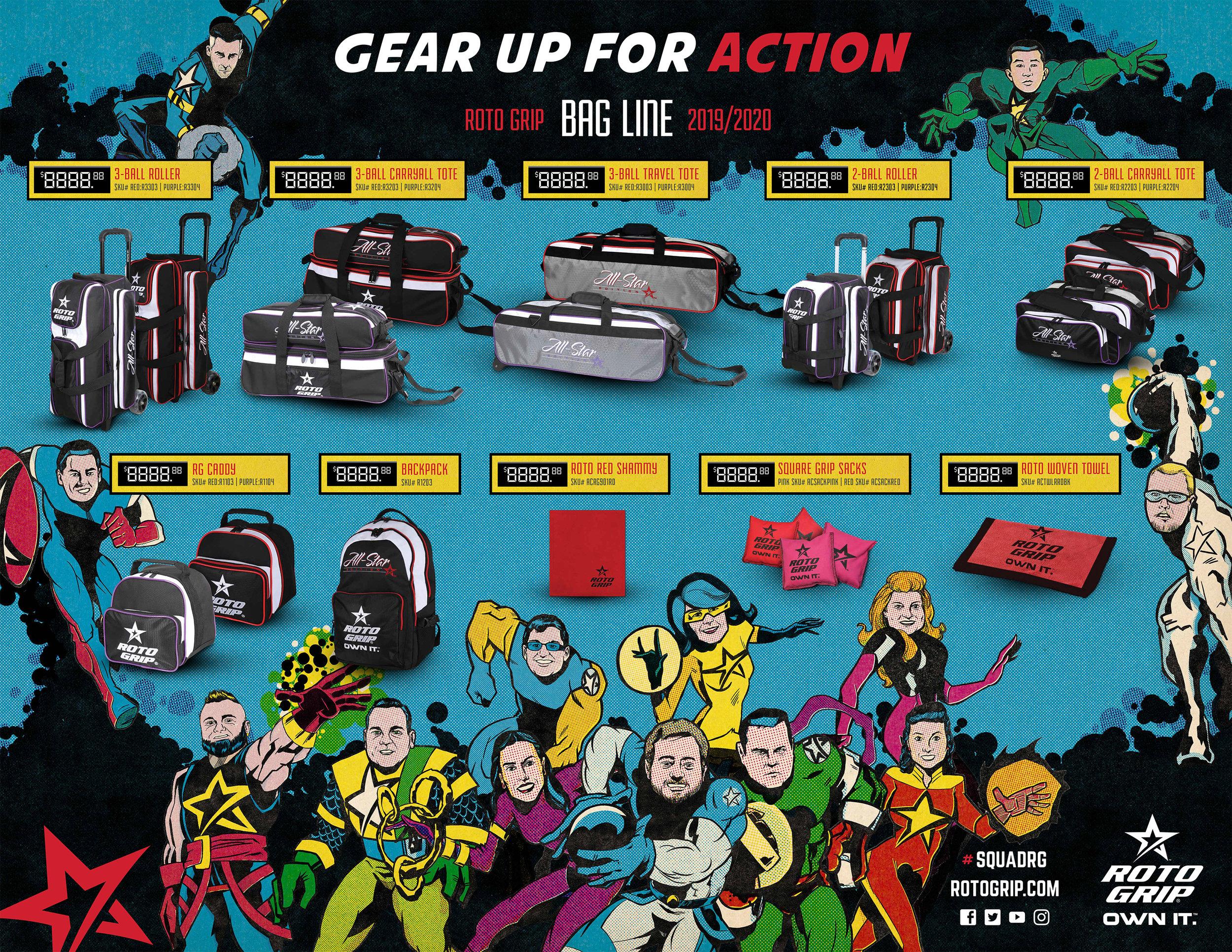 2019 Pro-Shop Accessories Poster