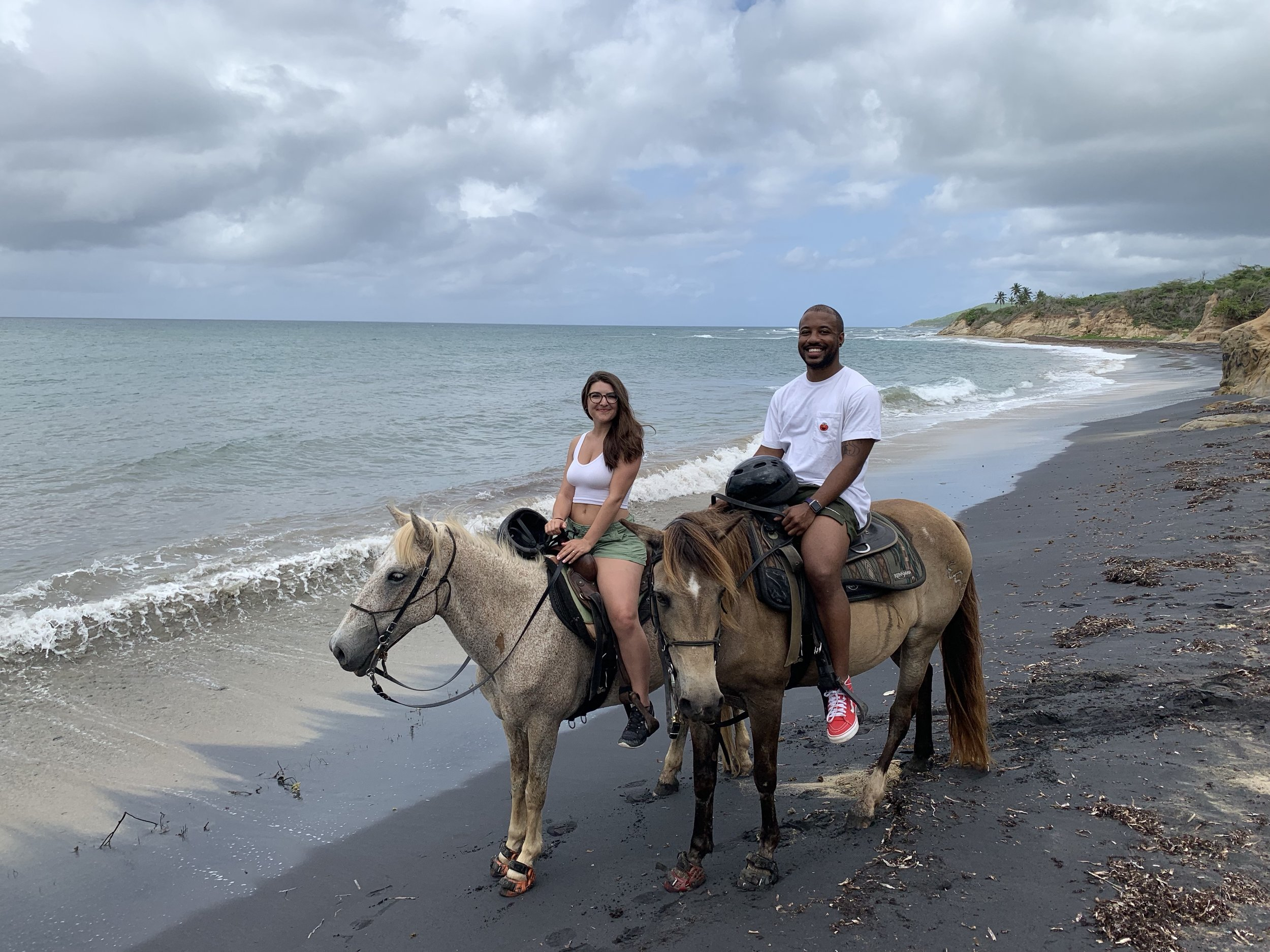 One of the coolest parts about Vieques is that horses roam free all over the island. We went horseback riding with  Esperanza Riding Company  which was an amazing way to see Vieques.