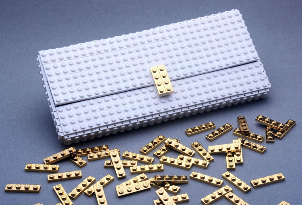 agabag gold lego bag