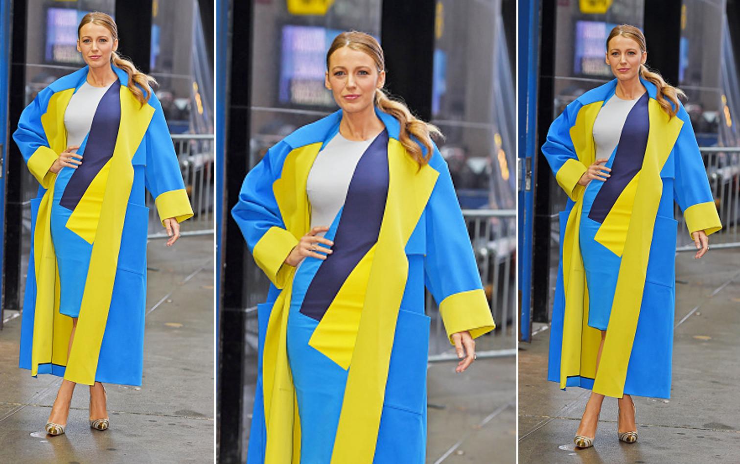 blake lively roksanda ilincic coat