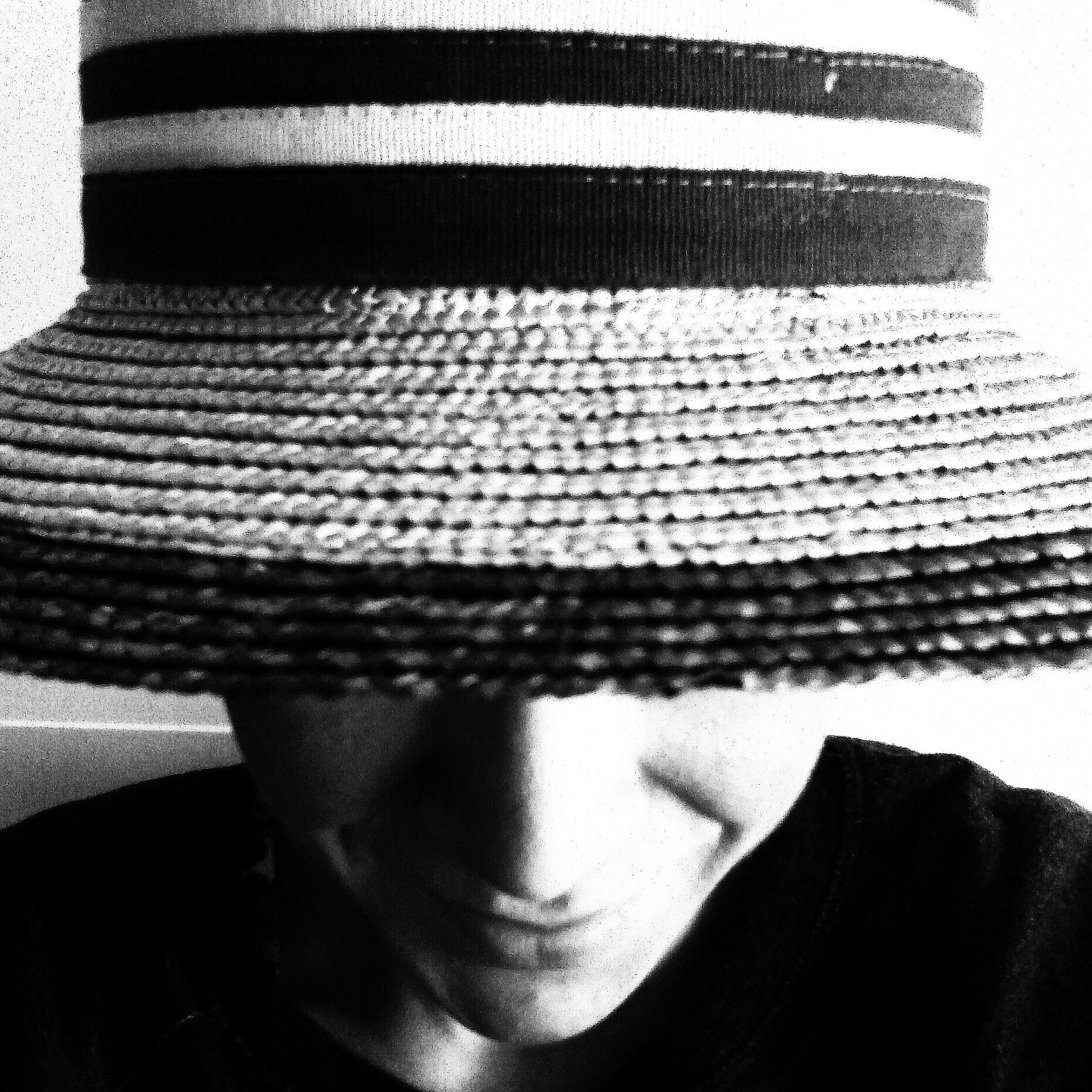 boater vintage hat