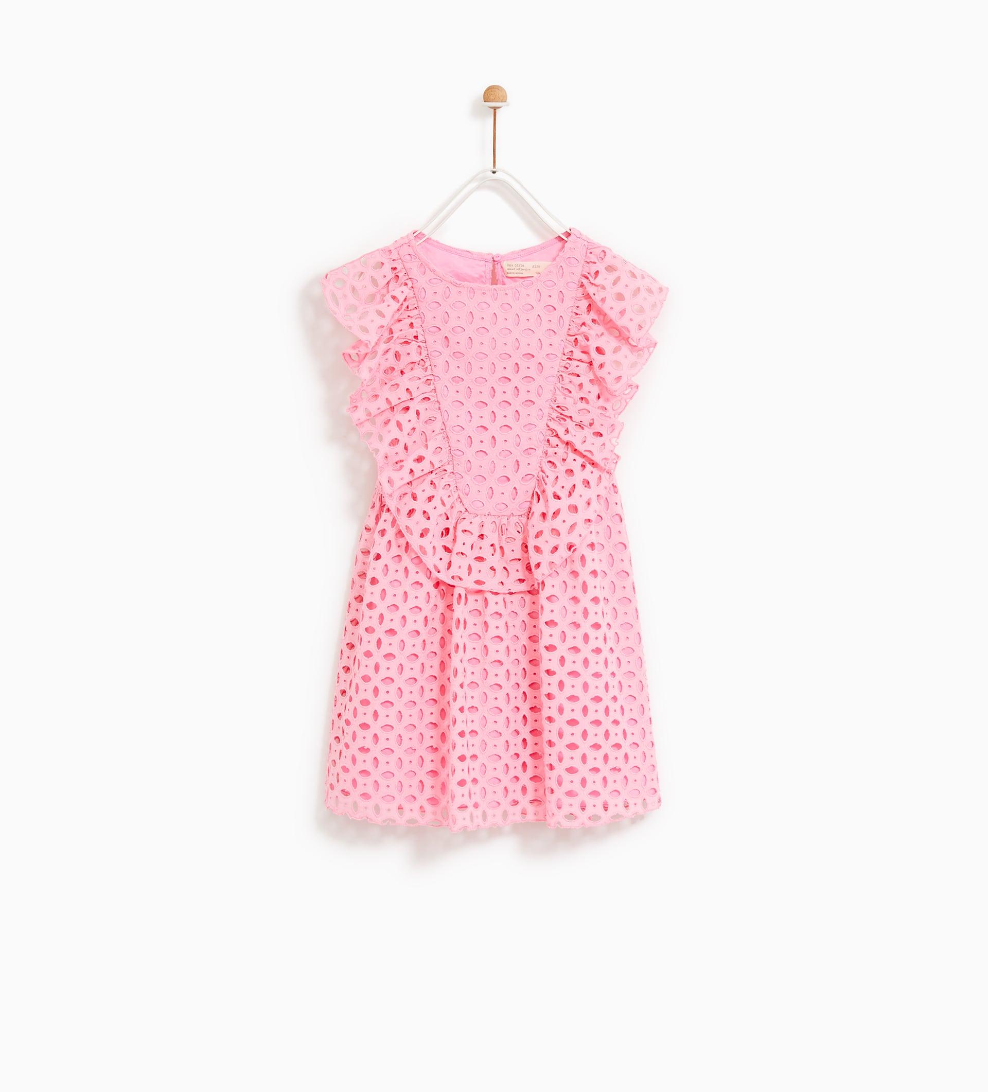 różowa sukienka zara kids