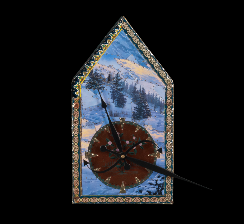 Winter Flower Clock