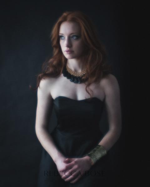 Contemporary Glamour Portrait