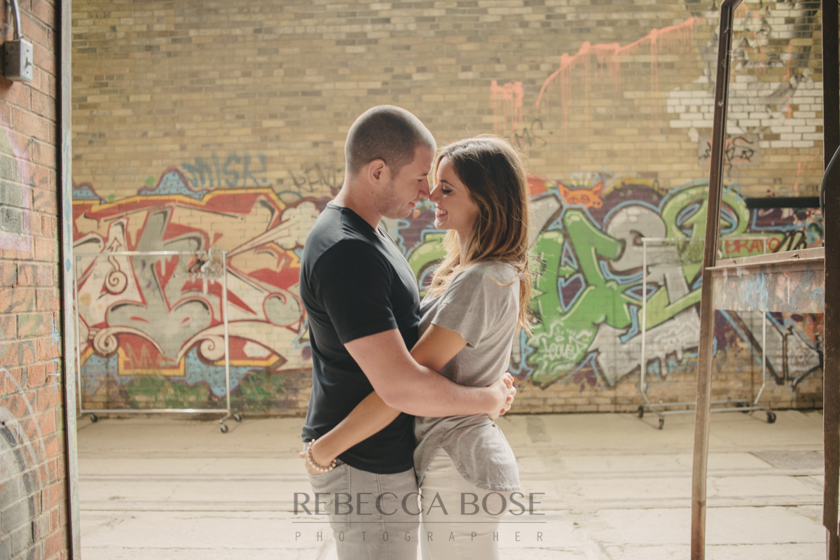 graffiti Engagment Pictures