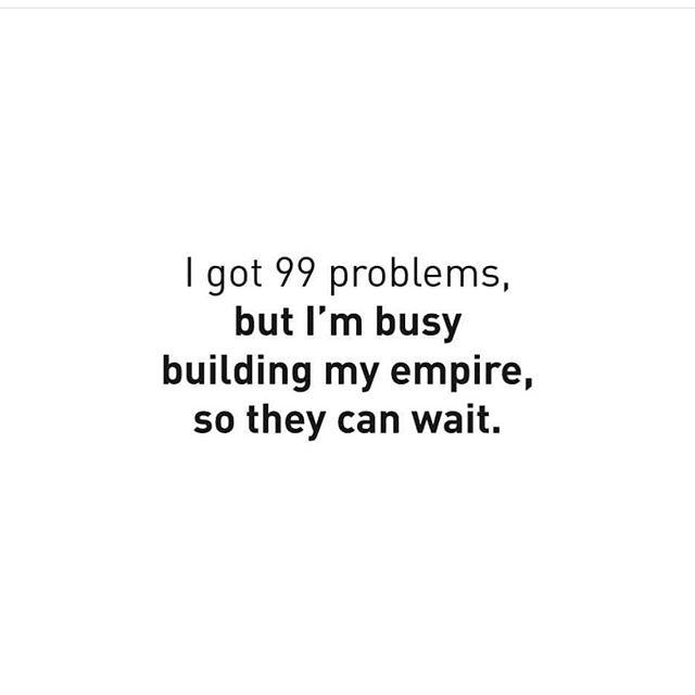 Friday morning mood. #entrepreneur #ladyboss #girlboss #99problems