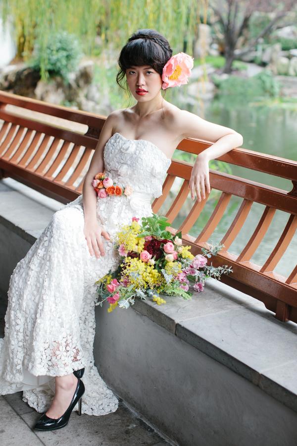 Kelsey Genna Gardenia Bridal Gown