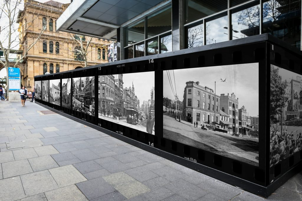 Double Take, by Rachel Harris. Image courtesy City of Sydney.