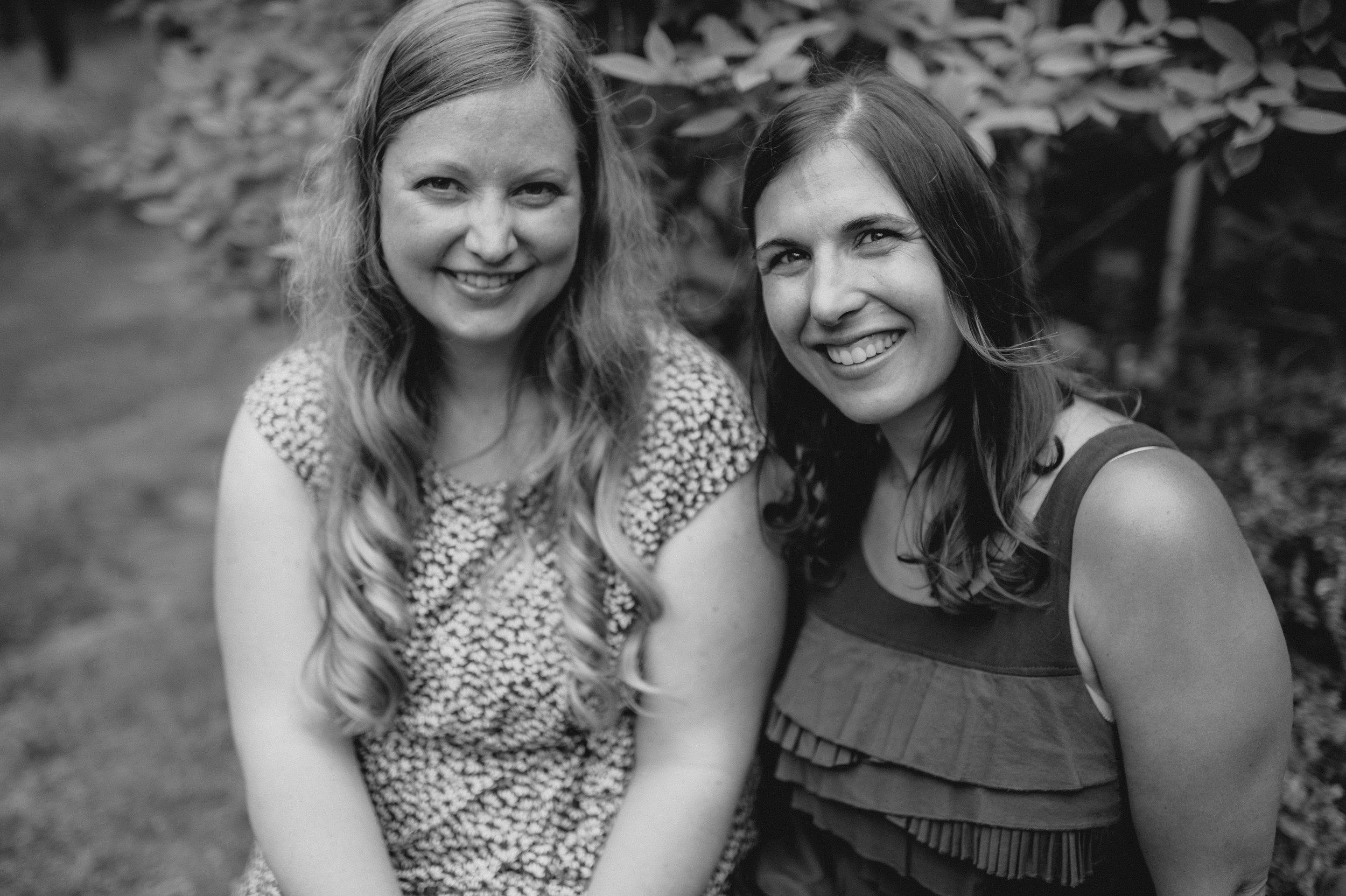 Polly Hitchcock Sage & Gabrielle Krage (Photo credit: Alicia Wines)