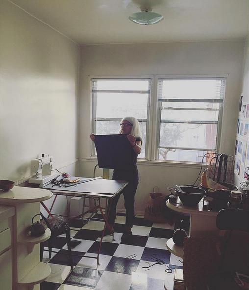 natural light of home studio