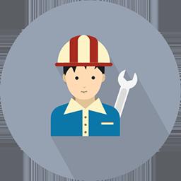 technician badge