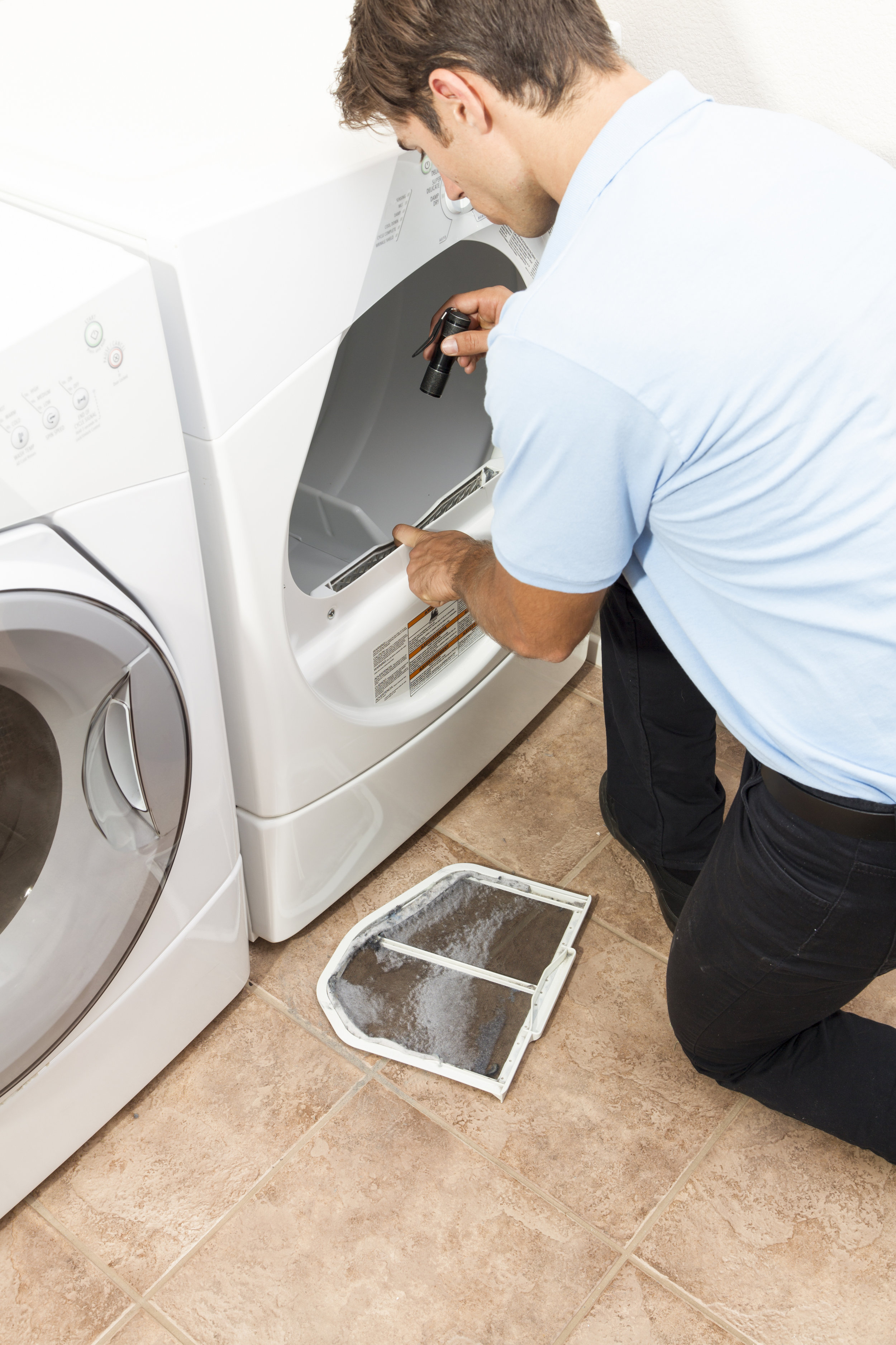 front dryer vent inspection