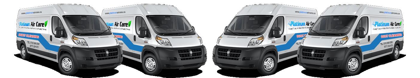 Platinum Air Care Duct Trucks