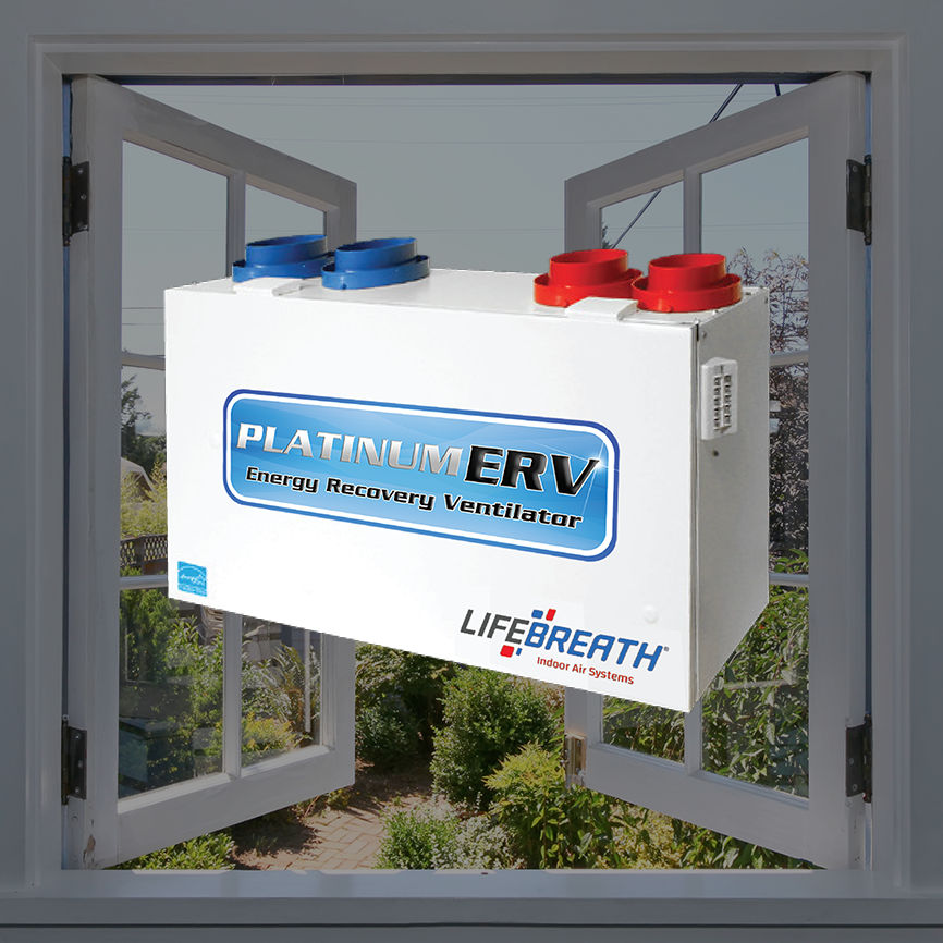 Platinum ERV - Energy Recovery Ventilation Systems