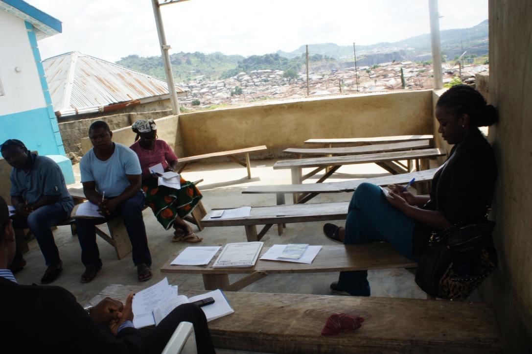 Community Based Volunteers Monthly Meeting, Mpape.