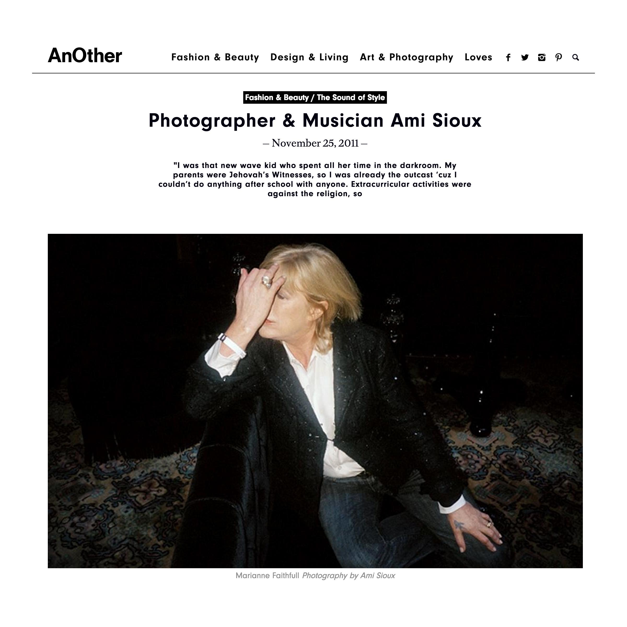Another Magazine / November 2011
