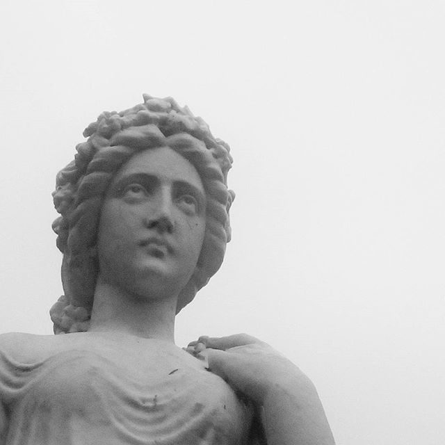 Stoneface. #statue