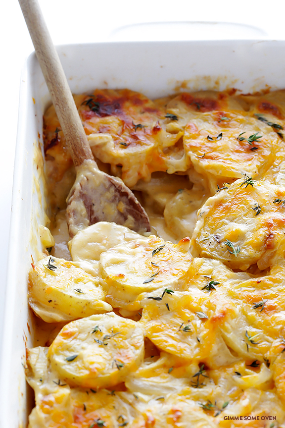 Scalloped Potatoes by Gimme Some Over