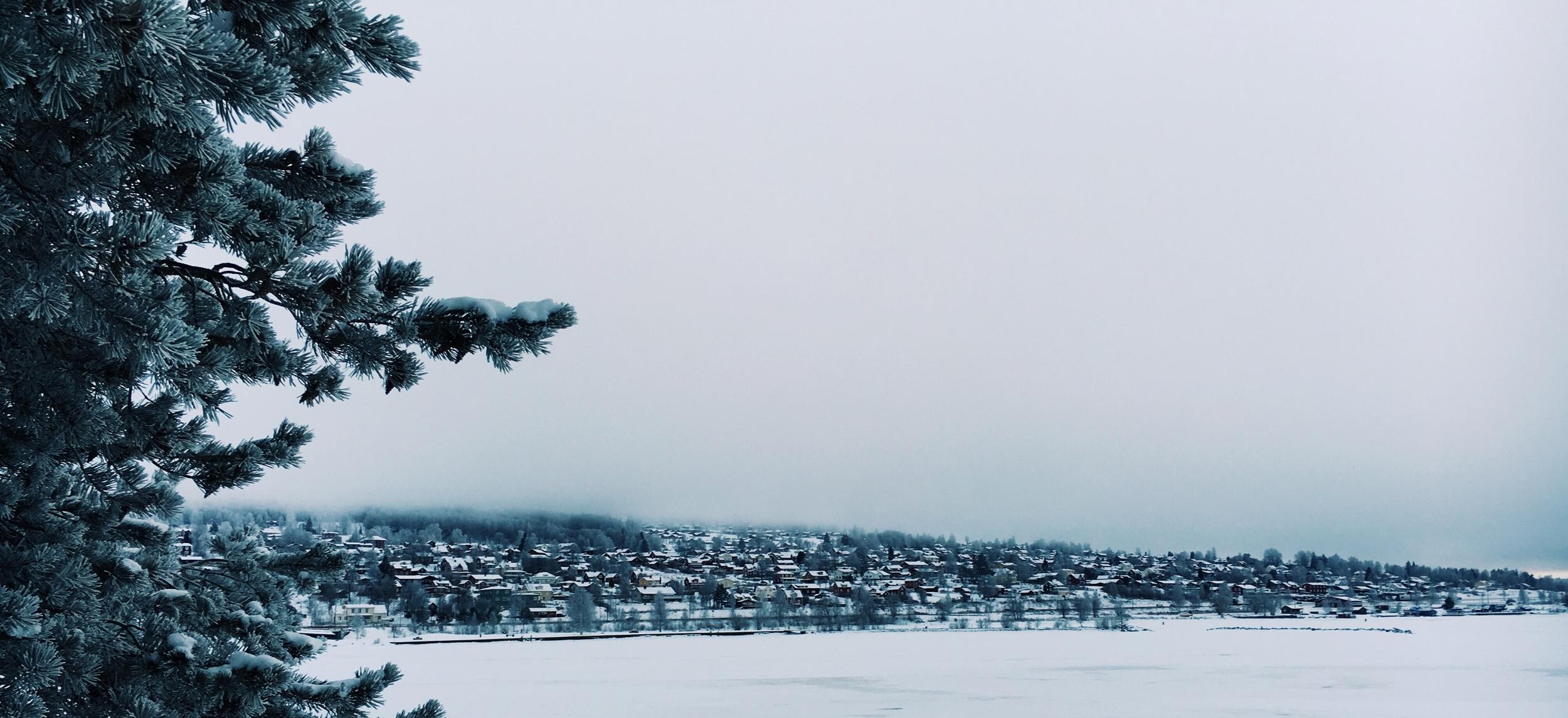 Rattvik-in-Winter-Sweden